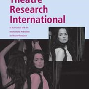 'Theatre Research International' seeks book reviews editors for the Americas and Australasia