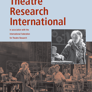 Theatre Research International 41.1 Now Available