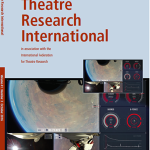 Theatre Research International 41.3 is now available