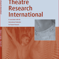 Theatre Research International 42.1 is now available