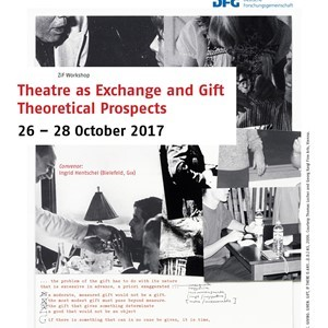 Conference: Theater as Exchange and Gift  (1)