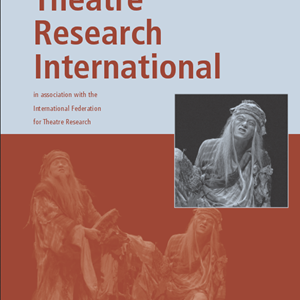Theatre Research International 42.2 is now available
