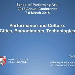CfP - Performance and Culture: Cities, Embodiments, Technologies