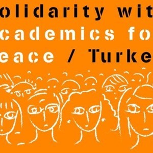 Solidarity with Peace Academics at Risk in Turkey
