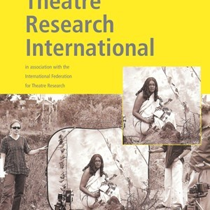 New Issue of Theatre Research International