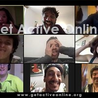 'Get Active Online!' Help to support psycho-physical health with Live embodiment Zoom sessions.