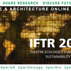 Online Meeting: IFTR Theatre & Architecture Working Group