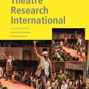 Theatre Research International Call for Associate Editor