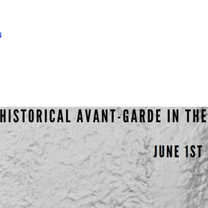 Call for papers:  The Czech Historical Avant-Garde in the European Context (Brno Theatralia Conference 2021)  June 1st – 3rd 2021 (on-line)